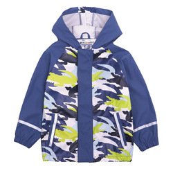 Criança menino jaqueta com capuz impressão impermeável plutônio crianças casacos de chuva primavera esportes outerwear para o bebê menino à prova de vento capa de chuva das crianças