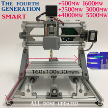 GRBL control Diy 1610 mini CNC machine,Wood Carving machine,3 Axis Pcb Milling machine,Wood Router,arduino cnc router,ship DHL