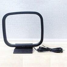 Mini Universal FM/AM Loop Antenne für Sony Sharp Chaine Stereo AV Empfänger Systeme Stecker Empfänger