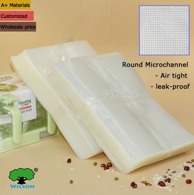 10x15cm 4 X6 100 1000 Pcs 5 1 Mils Household One Side Embossed Vacuum Sealer Foodvacbags Storage Bags Food Saver In From Home Garden On