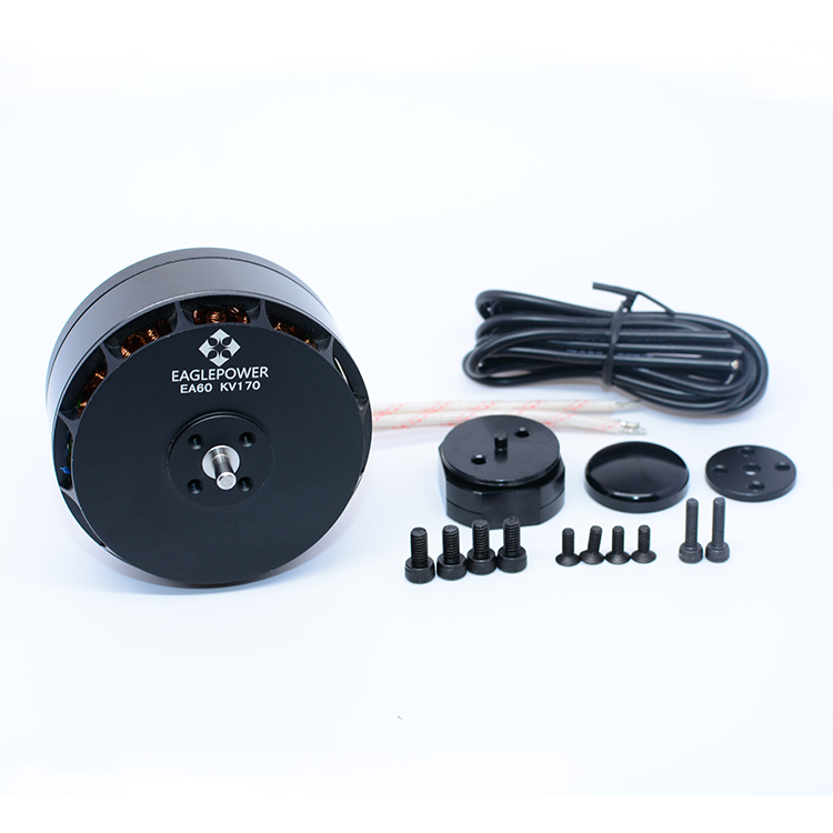 Yuenhoang 2PCS EA60 Brushless <font><b>Motor</b></font> 6215 Eagle Power <font><b>170KV</b></font> 330KV 350KV 6-12S s for Plant Agriculture UAV Drone image