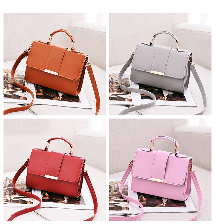 Women Bag Leather Handbags PU Shoulder Bag Small Flap Crossbody Bags for Women Messenger Bags 16