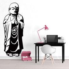 Buddha Wall Art Decal Vinyl Sticker Mural Transfer Yoga Style Home Living Room Decoration AY831