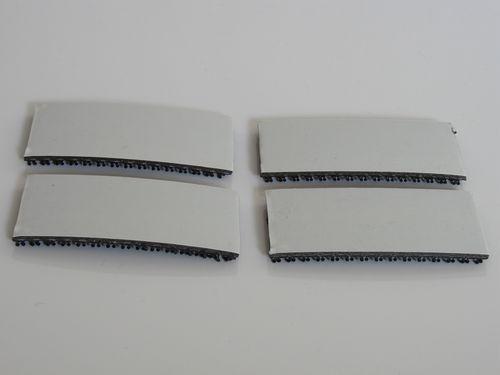 Бесплатная доставка, 3 комплекта/партия м SJ3540 1 дюймовыечистые этикетки пробки x50yards reclosabal Dual Lock лента с черным (вспененная) для использования...