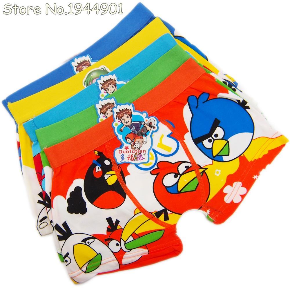 1Pcs Child's Underwear 2016 Cotton Boxers Kids Pantines Briefs For ...