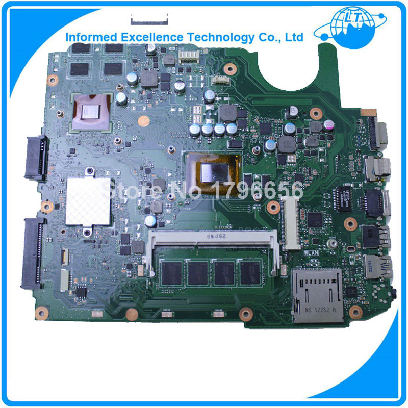 For ASUS X45VD motherboard laptop mainboard with CPU i3 4GB RAM Slots tested well free shipping for asus x55vdr motherboard 4g ram i3 cpu rev3 1 100% tested integrated original new motherboard