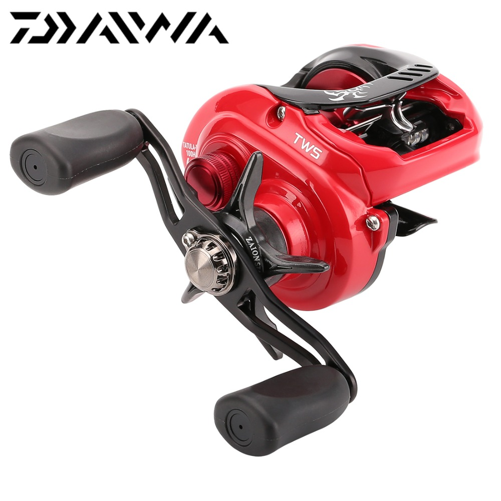 DAIWA TATULA TYPE R 100H 100HL 100SH 100SHL 7BB 6KG Baitcasting Fishing Reel TWS Red Limited
