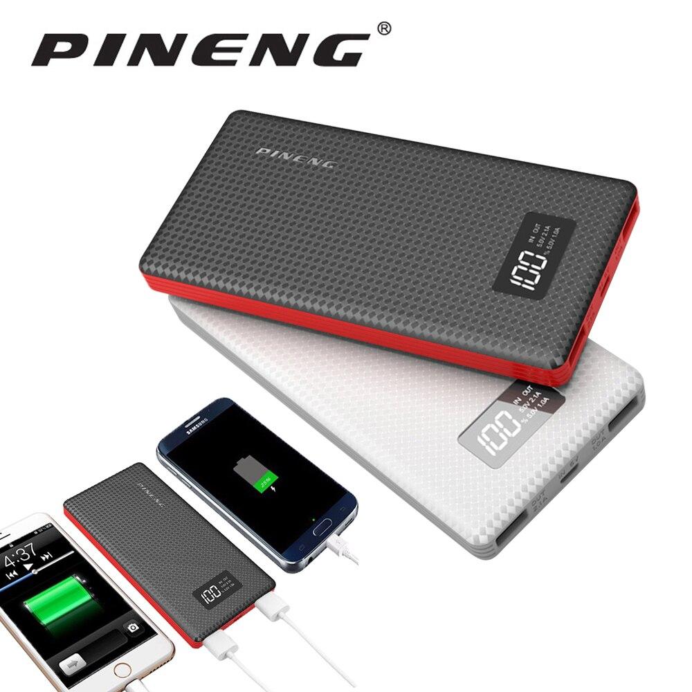 bilder für Neue Original Pineng Energienbank 10000 mAh Externe Batterie Tragbares Ladegerät für iPhone 7 Plus 6 S Plus 6 Plus 5 S und Andere Tabletten