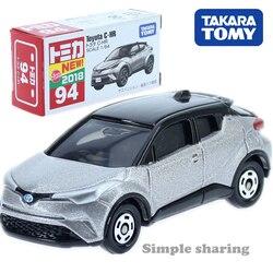 Takara tomica tomica n° 94 toyota C-HR modelo kit 1:64 miniatura diecast hatchback molde pop carro brinquedo mágico engraçado crianças bonecas