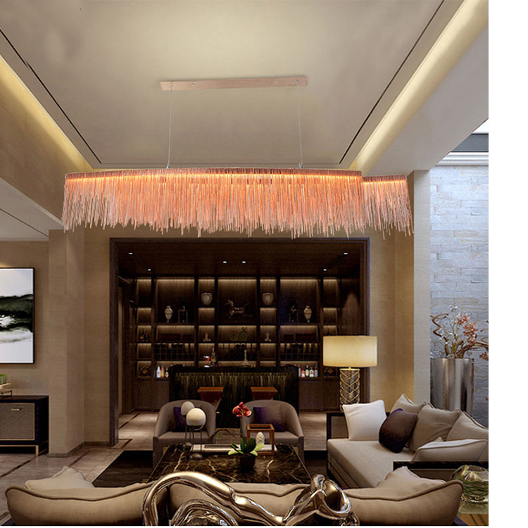 Modern LED hanging lights living room chandelier home deco lighting illumination Nordic fixtures dining room suspended lamps in Chandeliers from Lights Lighting
