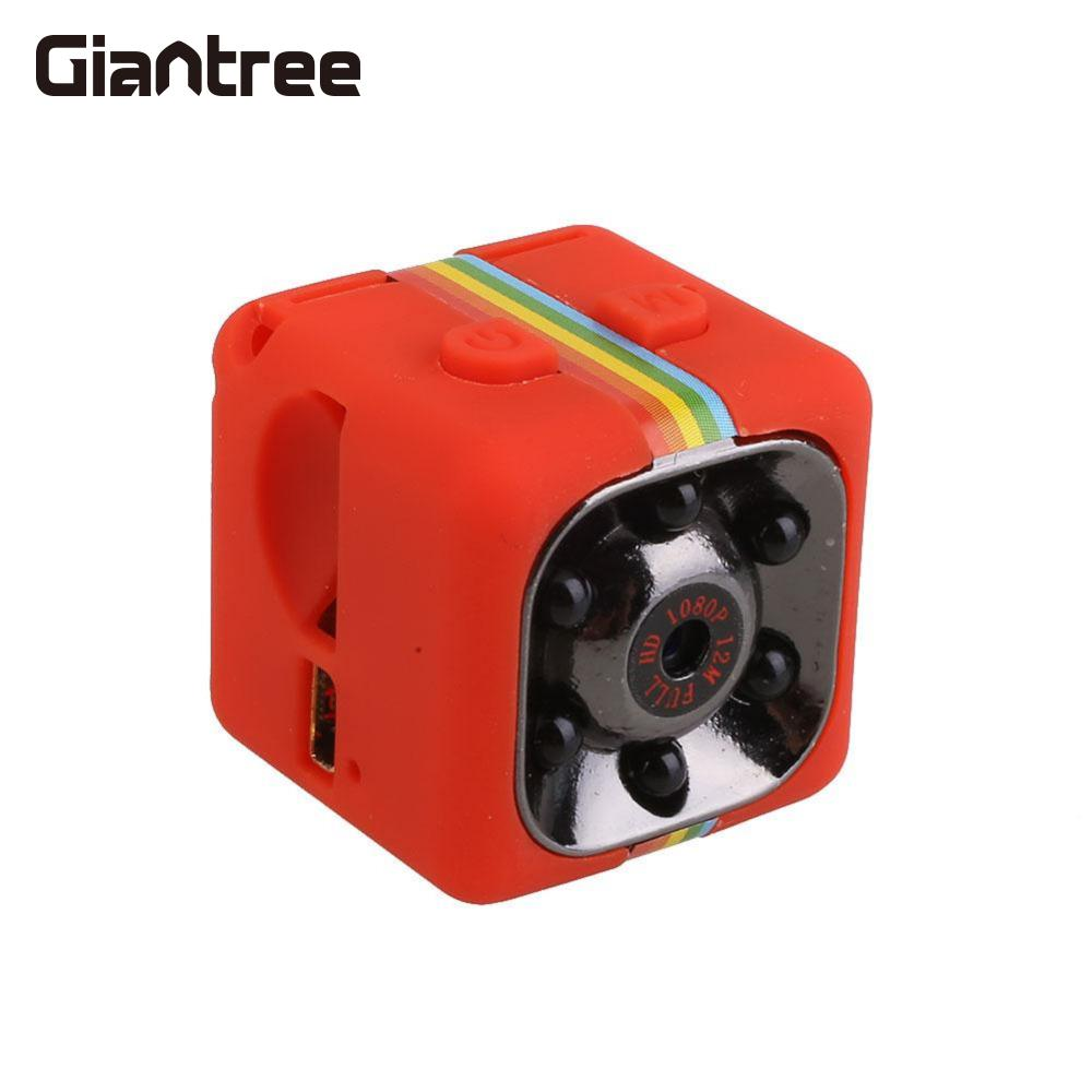 giantree Original SQ11 HD Recorder Camcorder Night Vision Mini Camera 1080P Car Infrared Camera DVR DV Video  Sport Outdoor
