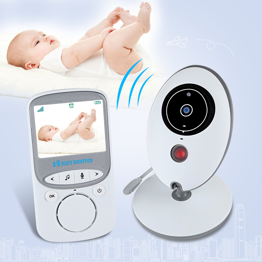 2.4 Wireless Video Baby Monitor with Camera Baby Sleep Monitor Audio Wifi Camera 2 Way Talk Video Surveillance Security Camera wireless lcd audio video baby monitor security camera baby monitor with camera 2 way talk night vision ir temperature monitoring