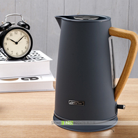 JZ016 1800W 220V 1 7L Vogue Graining Handle High Capacity Temperature Controlled Electric Kettle Kitchen Appliance
