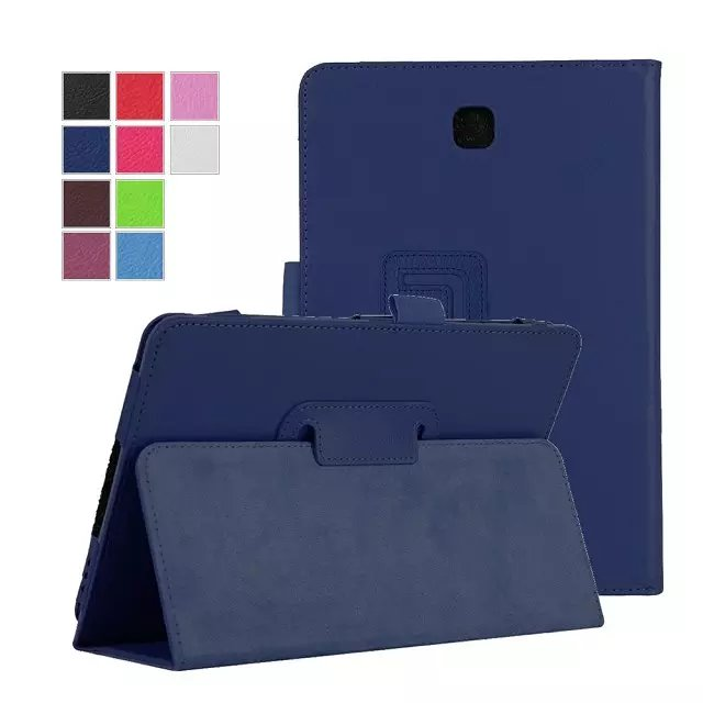 4 in 1 PU Leather Business Stand Tablet Cover case for Samsung galaxy tab A 8.0 T350 T351 T355 Case Cover+screen Film+stylus+OTG