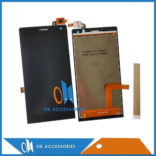 Pour DEXP Ixion MS 150 MS150 LCD Display + Écran Tactile Digitizer Remplacement De Haute Qualité Noir Couleur Avec du Ruban Adhésif