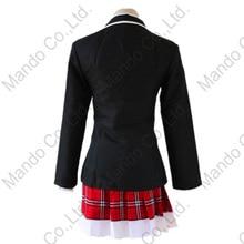 Amine Cyuunibyou Demo Koigashitai Takanashi Rikka Shichimiya Satone Cosplay Costume Girl School Uniform Dress Women 3pcs Outfit