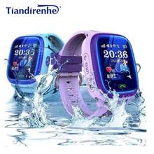 DF25 IP67 GPS Smart Watch Kids Waterproof Tracker W
