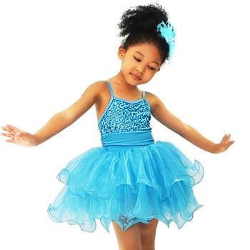 Stage Costume Dresses For Children's Ballroom Dance Dress Liturgical Dancewear Ballet Leotards Girls Dance Costume