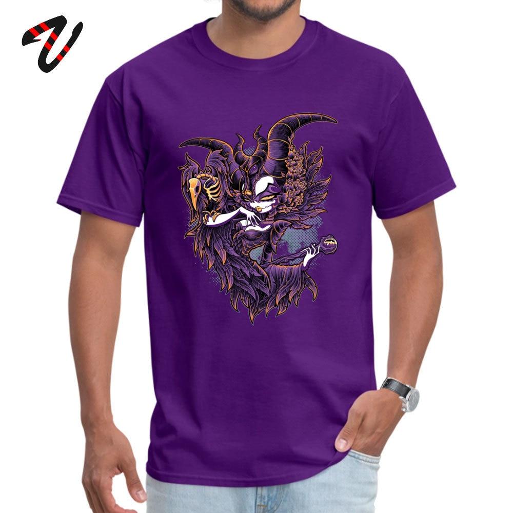 Malevolent Gaze Fashionable Short Sleeve Casual T Shirt Pure Cotton O-Neck Mens _black Tops & Tees Design T-shirts Summer Autumn Malevolent Gaze 7741 purple