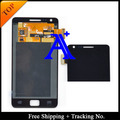 White Color - Free Shipping 4.3'100%  tested Original For Samsung Galaxy S2 plus i9105 i9105p LCD  Digitizer Assembly