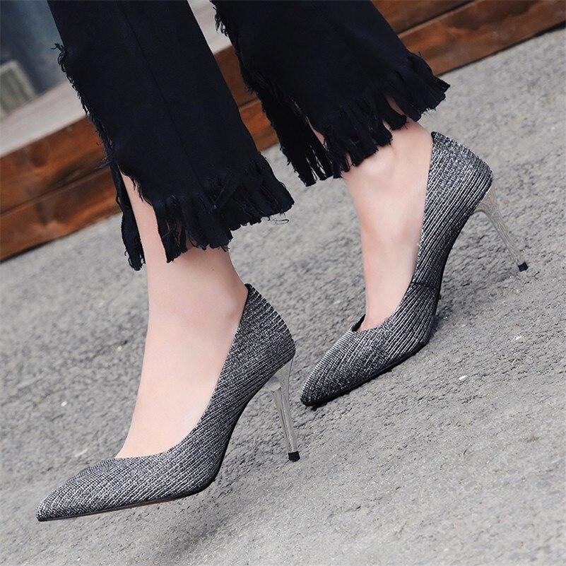 Bout Supérieure Qualité De Base 1 Femmes Chaussures Pointu Mode Parti Femme Nouvelles Mariage Sexy Talons Fedonas Pompes Bal Hauts pq6RZnfwfv
