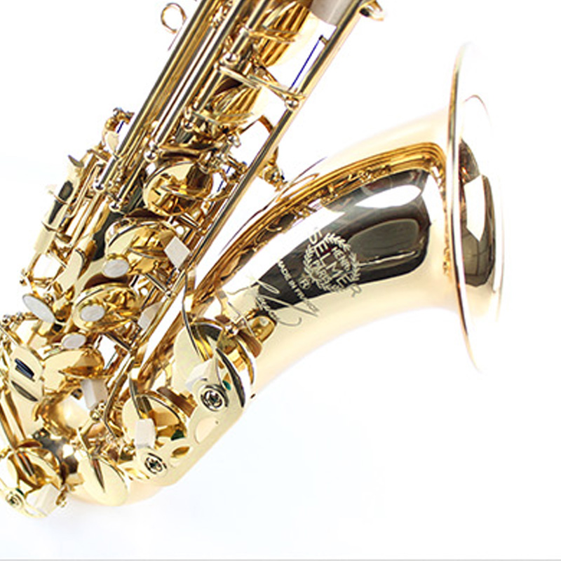 2017 NEW Top French SELMER 54 B flat Tenor Saxophone Musical Instrument Professional Sax DHL / EMS free shipping free shipping france saxophone instrument selmer b flat tenor sax wind antique bronze tube bag mail reed