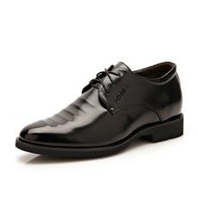 Новые мужские туфли натуральная кожа Формальные туфли оксфорды на шнуровке Повседневная чёрный; коричневый Deluxe Высокое качество Мужская обувь 37-42