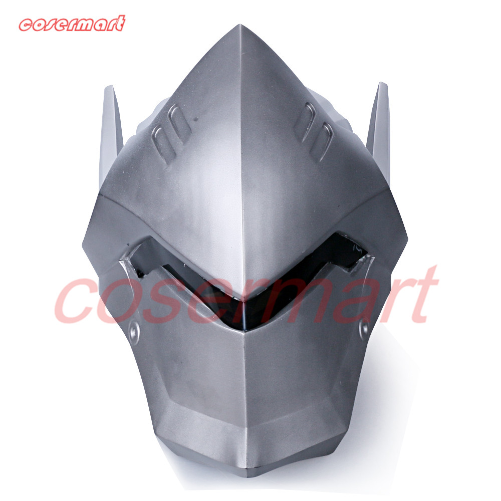 Game OW Over Watch Genji Overhead Helmet Cosplay Mask PVC Helmet Halloween Carnival Party Prop