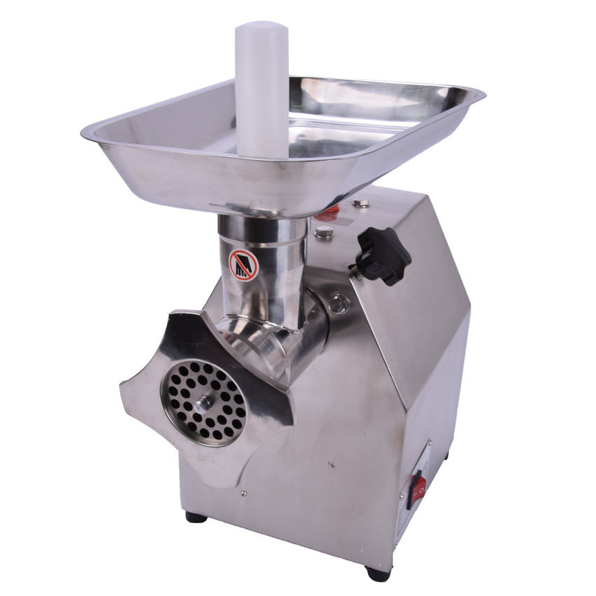 ФОТО 1pc  TK-12 220V/110V electric  Commercial meat grinder;meat mincer; Stainless Steel Electric meat grinder machine