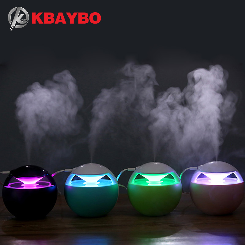 KBAYBO 450ML Aroma usb air humidifier Essential Oil Diffuser Car Portable Mini Ultrasonic Cool Mist For Home office цены