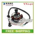 Грязь яма обезьяна велосипед мотоцикл YX YX140 140cc горизонтальный двигатель кайо dhz статора магнето бухта 6 катушки аксессуары