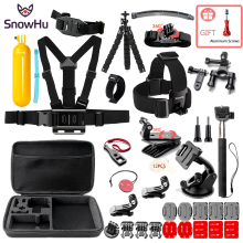 SnowHu Adjustable Harness Chest Strap Mount For Gopro Hero 5 4 3 Session SJCAM SJ4000 SJ5000 Xiaomi Yi 4K EKEN h9  ZH84
