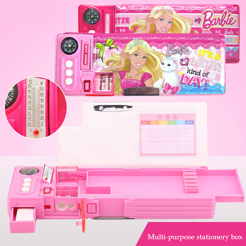 Venta caliente multifunción encantadora princesa lápiz caso para las niñas kawaii lápiz bolsa niños niña escolar papelaria Cancillería etui