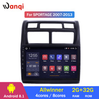 2G RAM 32G ROM 9 Inch Android 8.1 Car Dvd Gps Player For KIA Sportage 2007 2013 Radio Video Navigation