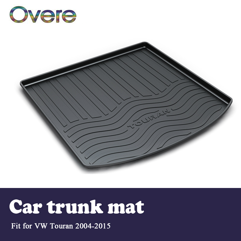 Overe 1Set Car Cargo trunk mat For VW Touran 2004 2005 2006 2007 2008 2009 2010 2011 2012 2013 2014 2015 Anti-slip Accessories for suzuki swift 2004 2013 accessories chrome door handle covers 2005 2006 2007 2008 2009 2010 2011 2012 car styling stickers