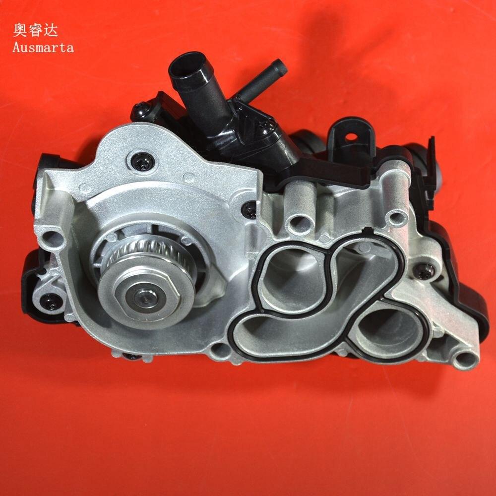 Hella de haute qualité pompe à eau assemblée + thermostat pour VW New Jetta Golf 7 1.6 04E121600A 04E 121 600 Un