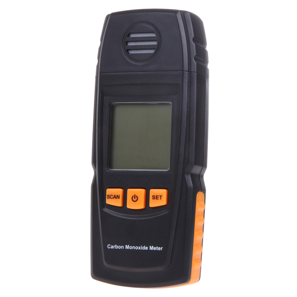 ФОТО LCD Digital Carbon Monoxide Meter CO Gas Tester Detector 0-1000ppm Support Carbon Monoxide Detection Digital Character Display