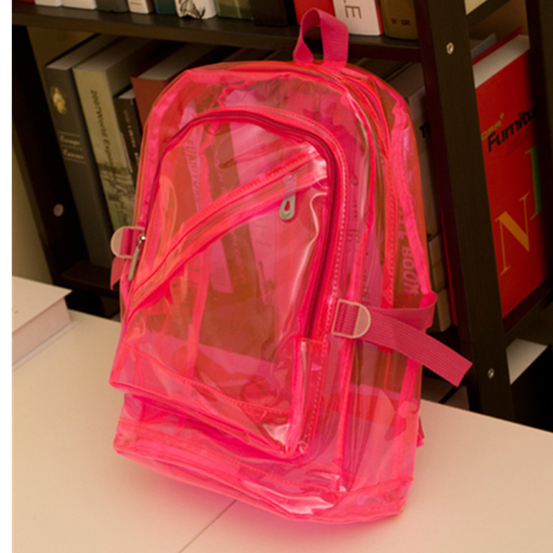 Popular Plastic Clear Backpack-Buy Cheap Plastic Clear Backpack ...