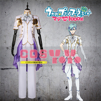 New Clothes Anime Song Prince Shinomiya Natsuki Military MIKAZE AI Show Clothes Cosplay Costume Coat Shirts