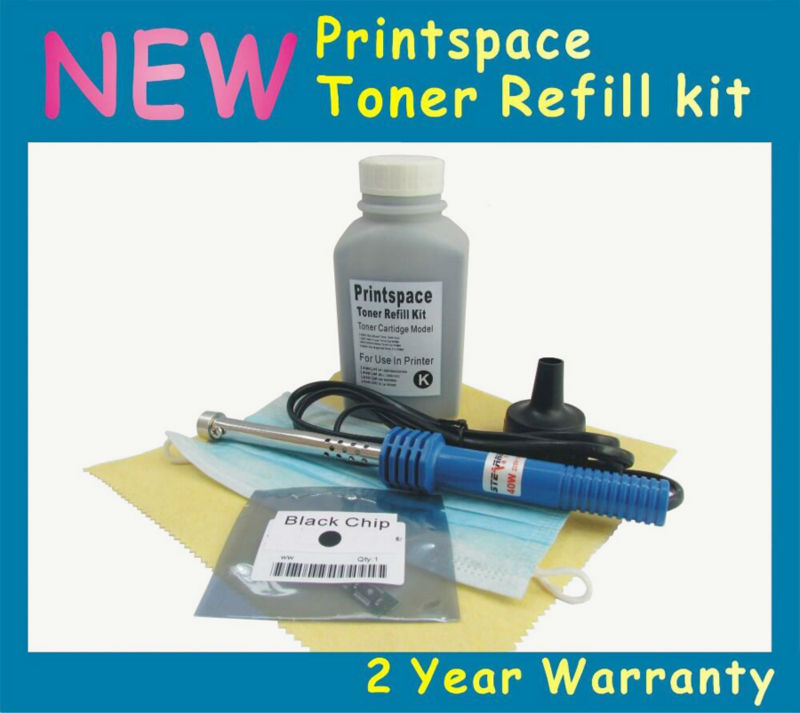 1x Toner Refill Kit + Chip Compatible for Samsung Xpress SL C1810W C1860FW CLT-504S CLT-K504S CLT-C504S CLT-M504S CLT-Y504S refill for samsung proxpress c 410 fw mltd4063 s clt k 4063 slc 412 w clt k 4062 els xaa xil see compatible new replacement