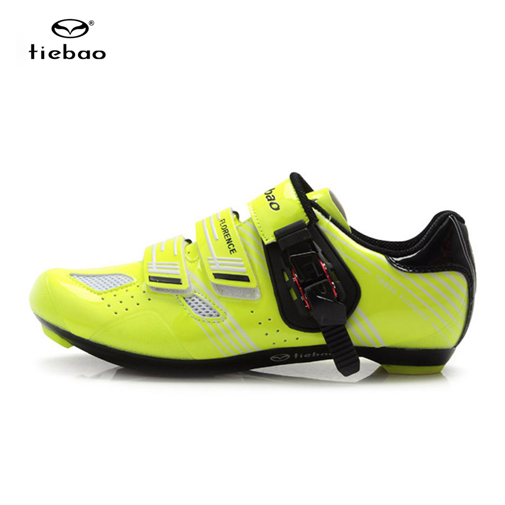 Tiebao Bicycle Racing Sports Road Cycling Shoes Bicycle Road Shoes Bike Shoes Zapatos Ciclismo Scarpe Professional Road Bikes
