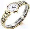 Relógio Novo designer de Moda relógios mulheres marca Original GAUNQIN Safira à prova d' água completa aço ultrafinos 6mm relógio de senhora