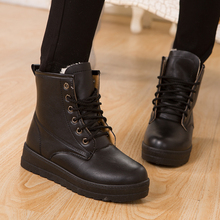 Winter Snow Boots Female Ankle Boots Women Fashion Warm Women Shoes Hot Sale Cotton Shoes Zapatos Mujer X026
