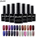 168 Colors Gel Nail Polish UV Gel Polish Long-lasting Soak-off LED UV Gel Color Nail Gel 10ml/Pcs Nail Art Tools genailish-GB66