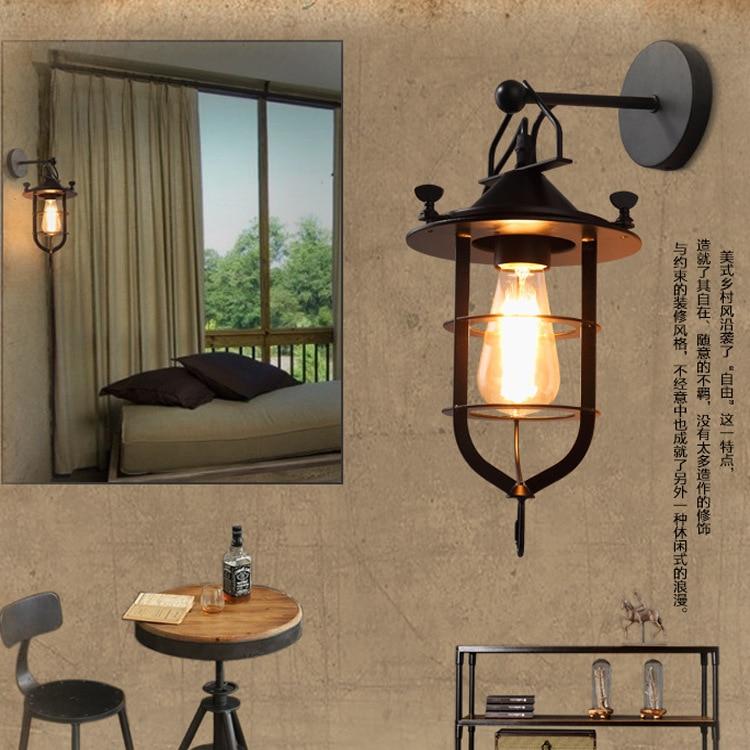 Amerikaanse Loft Wandlamp Ascelina Lange Swing Arm Wandlampen Verstelbare Metalen Led Wandlamp Home Verlichting Voor Slaapkamer/ Restaurant Speciale Kopen