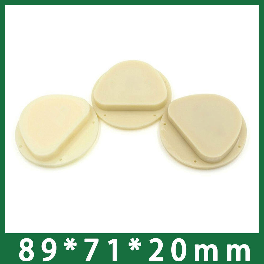 New 3pcs lot 20mm Thickness Dental PMMA Block Disc for AG Amann Girrbach CADCAM Machines
