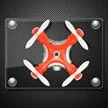 Nuevo cheerson cx-10c cx10c drone con cámara más pequeña! Mini 2.4G 6 CANALES 6axis drone RC Quadcopter con Cámara RTF MODE2