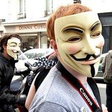 Masques de fête V pour Vendetta, déguisement Fawkes, déguisement pour adultes, accessoire de fête, masques Cosplay, 2020