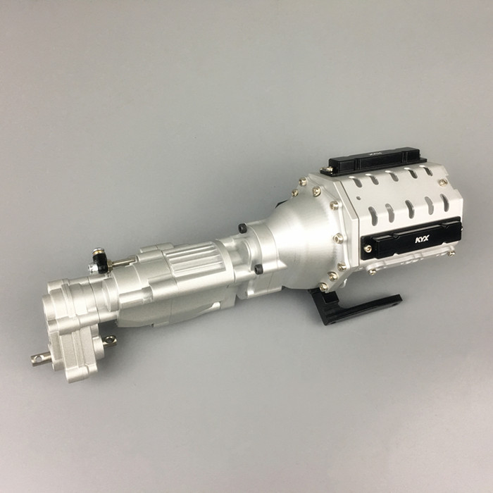 kYX CNC Machined Heavy DutyTwo 2 Speed V8 Gearbox for Axial SCX10 II AX90046
