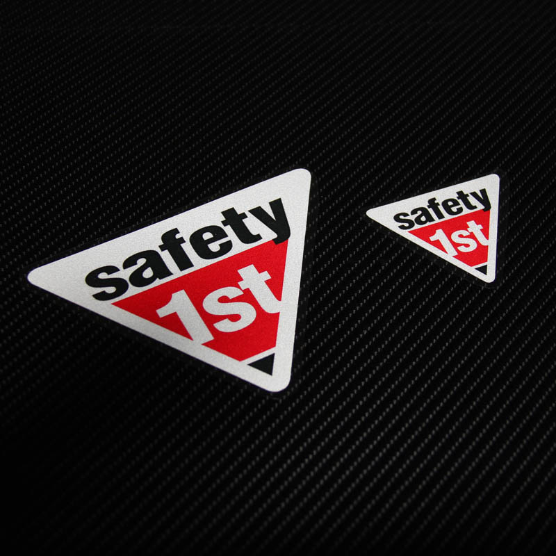 Hot sell High quality For safety 1st car sticker Reflective and decals cool modified accessories